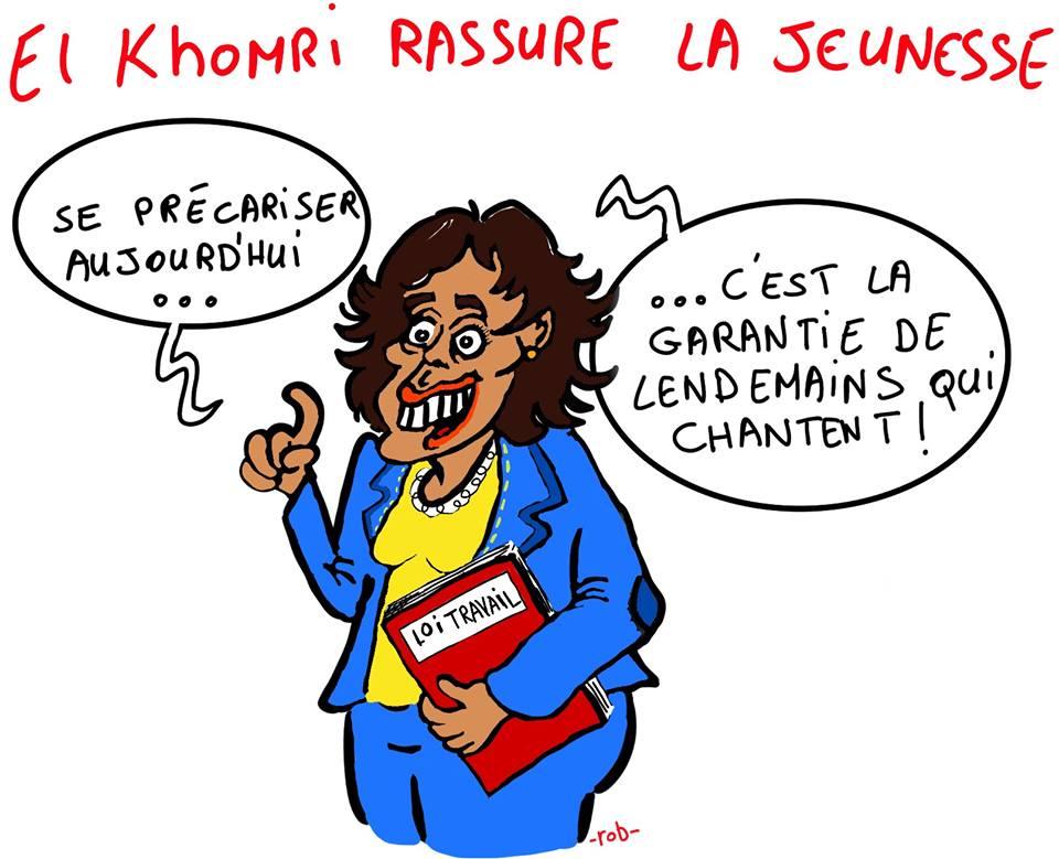 EL KHOMRI RASSURE LA JEUNESSE ROB