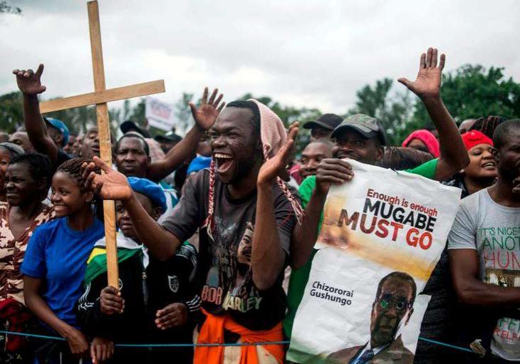 ZIMBABWE-POLITICS-PROTEST